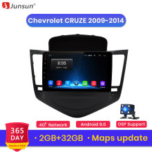 Junsun V1 2G +32G Android 9.0 For Chevrolet CRUZE 2009-2011 2012-2014 Car Radio Multimedia Video Player Navigation GPS 2 din dvd(China)
