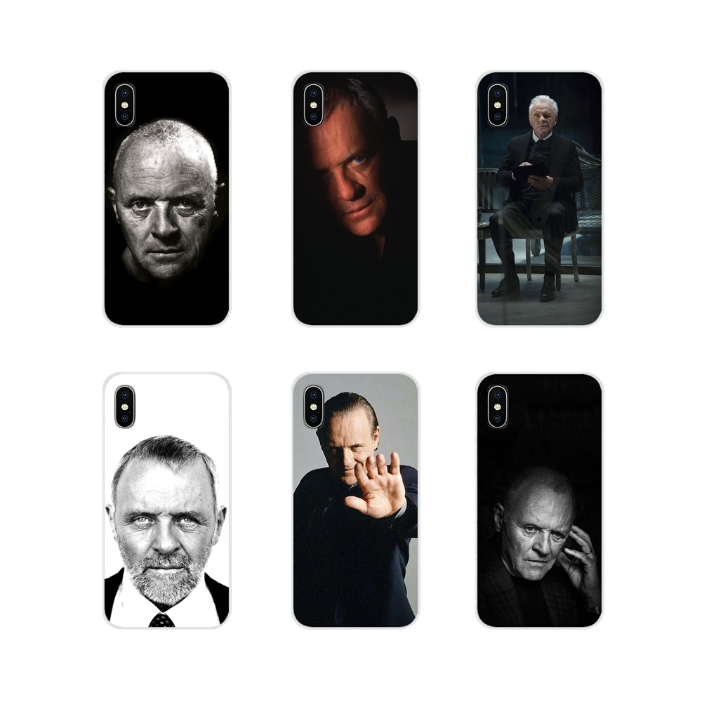 For Apple iPhone X XR XS 11Pro MAX 4S 5S 5C SE 6S 7 8 Plus ipod touch 5 6 Accessories Phone Cases Covers Anthony Hopkins