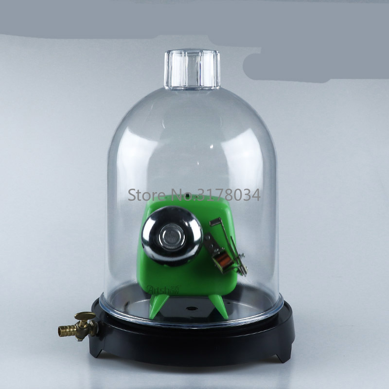 Exhaust Tray Bell Cover Vacuum Sounding Experimental Music Generator Junior Physics Teaching Instrument With Inflatable Tube