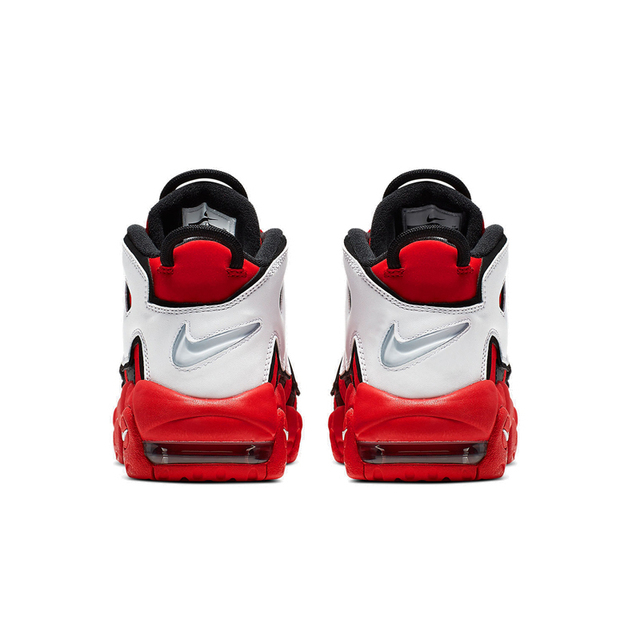 Nike Air More Uptempo Air Air Cushion Serpentine Children Basketball Shoes Boys Cq4581-100 3