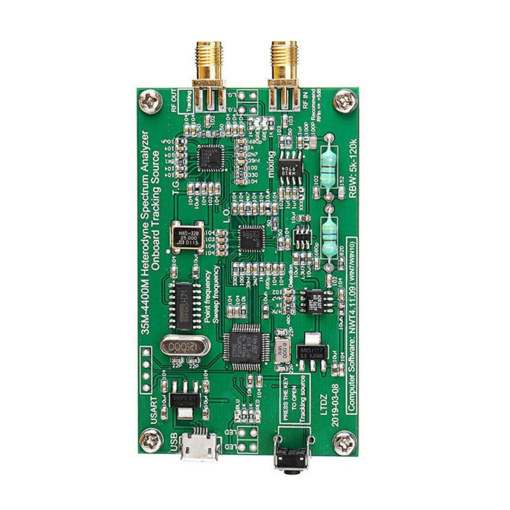 RF Frequency Domain Analysis Tool Spectrum Analyzer USB LTDZ_35-4400M Signal Source Analysis With Tracking