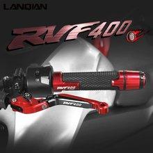 Для honda rvf400 аксессуары для мотоциклов алюминиевые рычаги