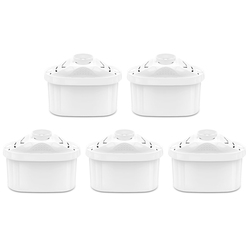 5 pçs casa purificar chaleira de carvão ativado filtros de água cartucho substituição para brita filtro jarro de água