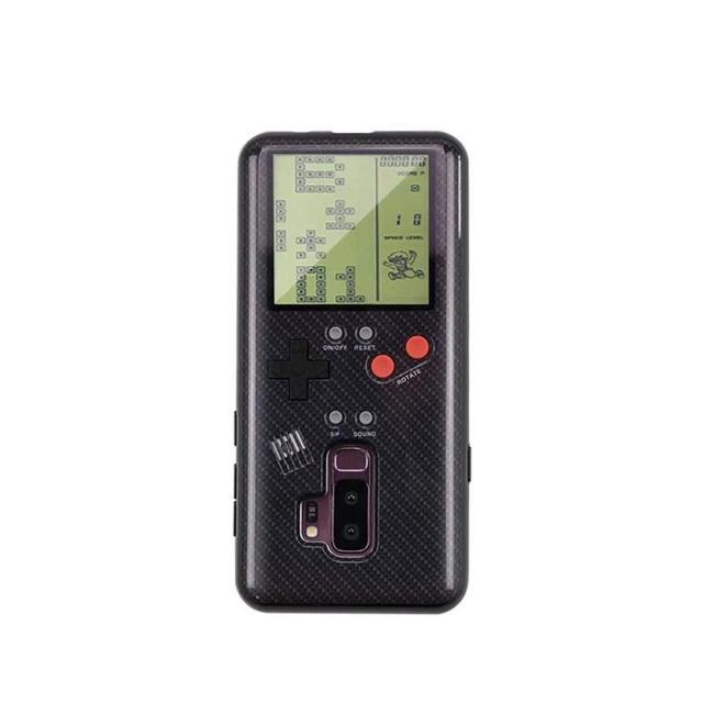 サムスンギャラクシーS8 S9 プラスケースレトロゲームボーイテトリス電話ケース再生ゲームコンソールカバー装着しsiliconen携帯シェルケース
