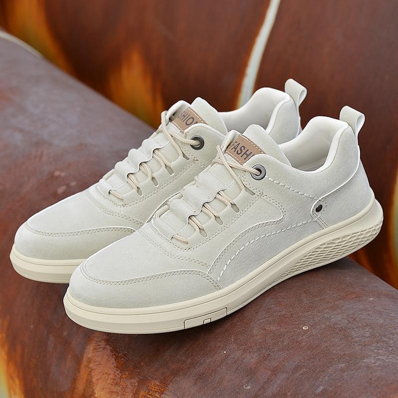 respirável outono rendas até confortáveis sapatos casuais