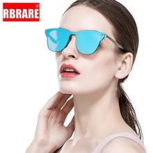 RBRARE Designer Sunglasses Women 2019 High Quality Mirror Luxury Siamese Square Vintage Oculos
