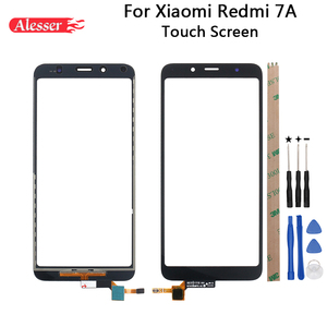 Alesser For Xiaomi Redmi 7A Touch Screen Panel Repair Parts For Xiaomi Redmi 7A Touch Panel + Tools + Adhesive Phone Accessories