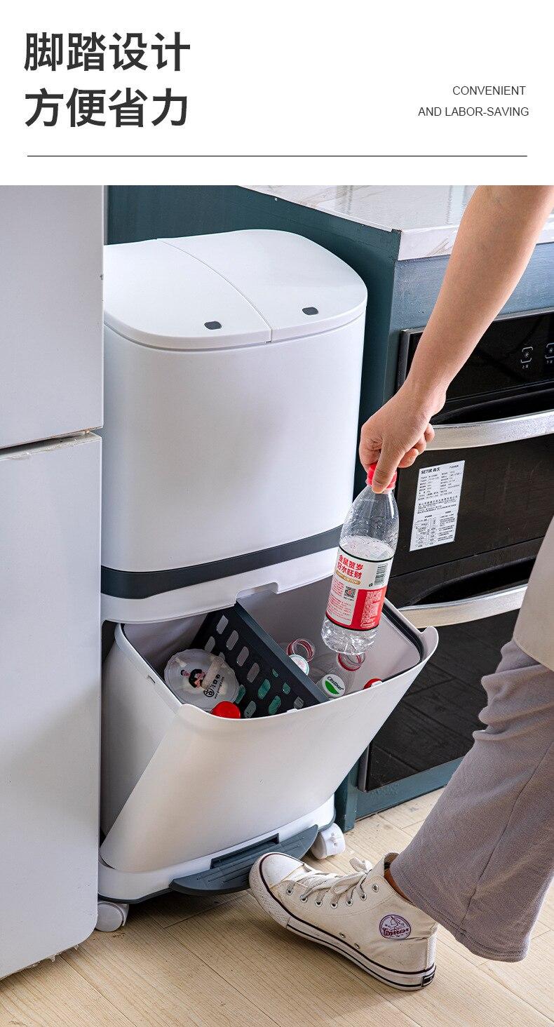 Saco de lixo para armazenamento de cozinha,