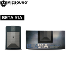BETA 91A Half-Cardioid Condenser Kick-Drum Microphone (Includes Integrated Preamplifier and Male XLR Output)BETA91A