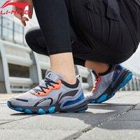 Li Ning Men ARASHI PLUS Cushoin Running Shoes LIGHT FOAM LiNing li ning Durable Reflective Sport Shoes Sneakers ARHP161 XYP934