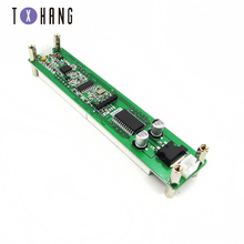 цена на 0.1-60MHz 20MHz ~ 2.4GHz RF signal frequency counter 8 LED instrument measurement module for ham radio amplifier electronics