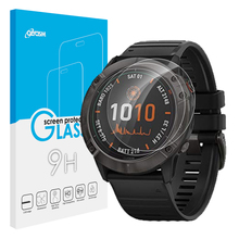 10 PACK Tempered Glass For Garmin Fenix 6 Pro 6s Pro 6x Pro Watch Screen Protector 9H Clear Anti-Scratch Film Skin Ultra-thin tempered glass film for samsung gear s3 smart watch 9h anti scratch ultra thin screen protector film