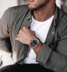 Image 4 - Winnaar Officiële Mode Jurk Horloges Roestvrij Staal Automatische Horloge Mannen Datum Display Klassieke Sport Stijl Mechanische Horloge