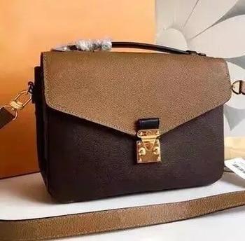 Top Quality Luxury Brand Women Messager Bag New Fashion Handbag Pochette Design Shoulder