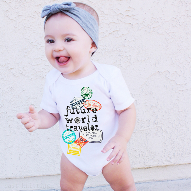 Future Designer Just Like Grandma Cute Boys and Girls Baby Vest Bodysuit