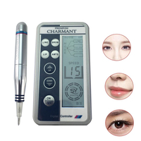 Charmant Semi permanent Makeup Machine Kit For Eyebrow Tattoo Lip eyeliner MTS Microblading Pen Set Eye Make up Beauty Care