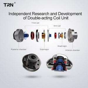 Image 3 - Trn V10 2DD 2BA Hoofdtelefoon Hybrid In Ear Oortelefoon Hifi Dj Monitor Running Sport Oortelefoon Headset Trn V90 V20 V80 v30 AS10 T2 Vx