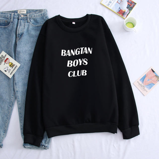 BANGTAN BOY CLUB SWEATSHIRT (4 VARIAN)