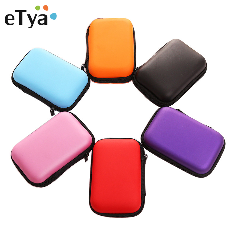 Portable Packing Organizer Travel Accessories Mini Earphone SD Card USB Cable Phone Data Line Storage Bag Pouch Coin Money Case