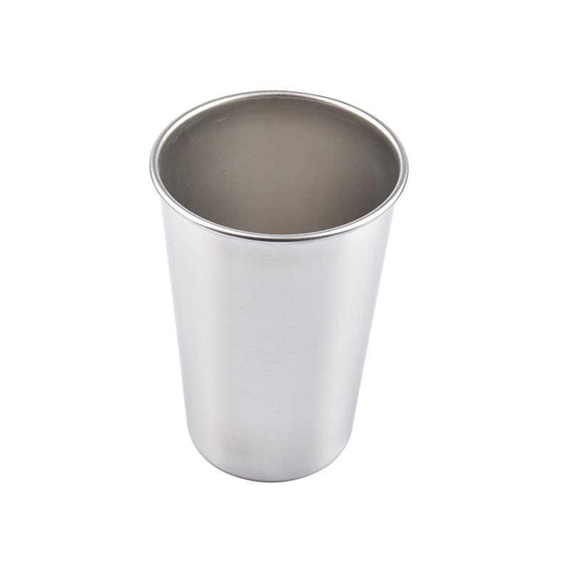 ถ้วยไวน์ขาวชาแก้วคลาสสิก Bar ถ้วยแก้วสแตนเลสแก้วเหล้าความต้านทานบ้านน้ำขวดชานมแก้ว