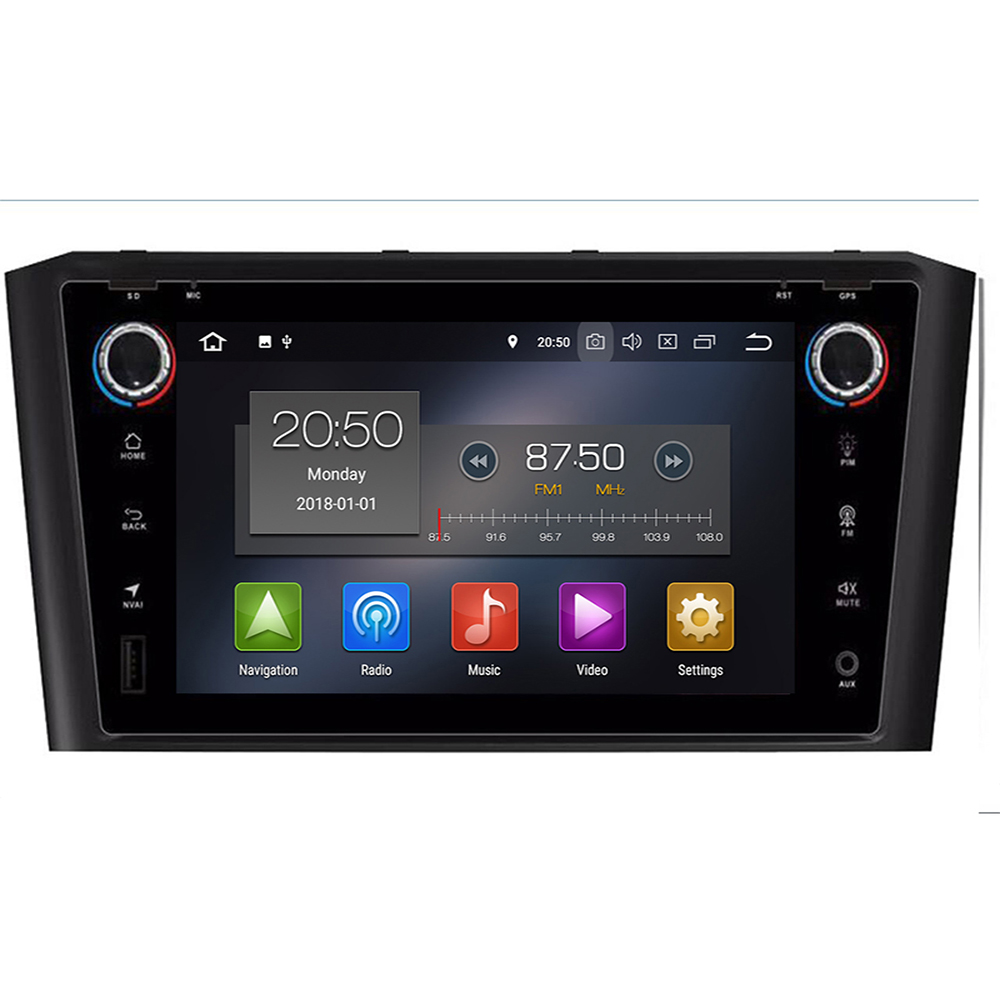 DSP IPS 8 core 4G 64G 2 din <font><b>Android</b></font> 9 Car radio Multimedia player dvd GPS navigation For <font><b>Toyota</b></font> Avensis/<font><b>T25</b></font> 2003-2008 stereo fm image