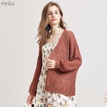 WB15197Q 秋の新女性のセーターファッションカジュアルニットカーディガン長袖オープンステッチのセーター 2019 Artka