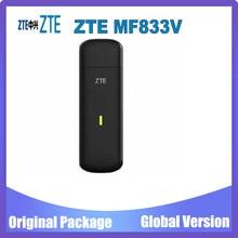 Desbloqueado zte mf833v mf833t 4g lte cat4 usb vara modem suporte lte fdd: b1/b3/b5/b7/b8/b20 (28) tdd: b40 (b38 ou b41)
