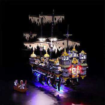 Led light 71042 lanterns Pirates of the Caribbean Building Block Light Set (only light NOT Include The Model)