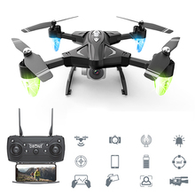 25 Minutes Long Battery Life WIFI FPV Quadcopter with 4K/1080P HD Wide Angle Camera Foldable Altitude Hold Durable RC Drone