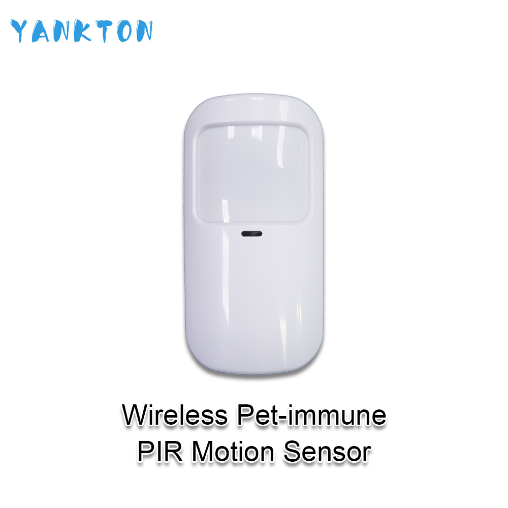 Tuya Smart 433mhz Alarm Wireless Wifi PIR Detector Sensor Infrared Motion Sensor For Home Alarm System Host Pet-immune Detector