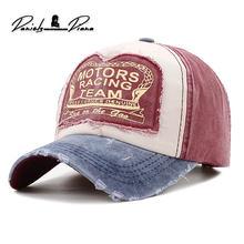 Новая летняя хлопковая кепка для мотогонок бейсбольная Кепка