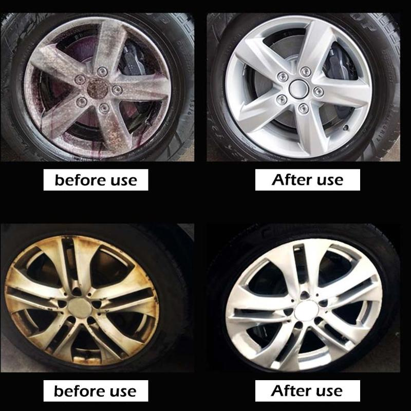 50ml V-Vaxy Car Paint Iron Powder Remover Agent Wheel Hub Rust Cleaner Spray