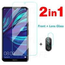 Screen Protector Gehard Glas Voor Huawei Y5 Y6 Y7 Prime 2018 2019 Camera Lens Glas Voor Huawei Y6 Y7 Pro 2019 Y5 Lite Glas