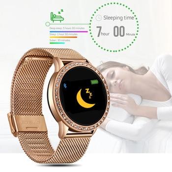 LIGE  2020 New Smart Watch Women Men Heart Rate Blood Pressure Sport Multi-function Watch fitness tracker Fashion smartwatch+Box 5