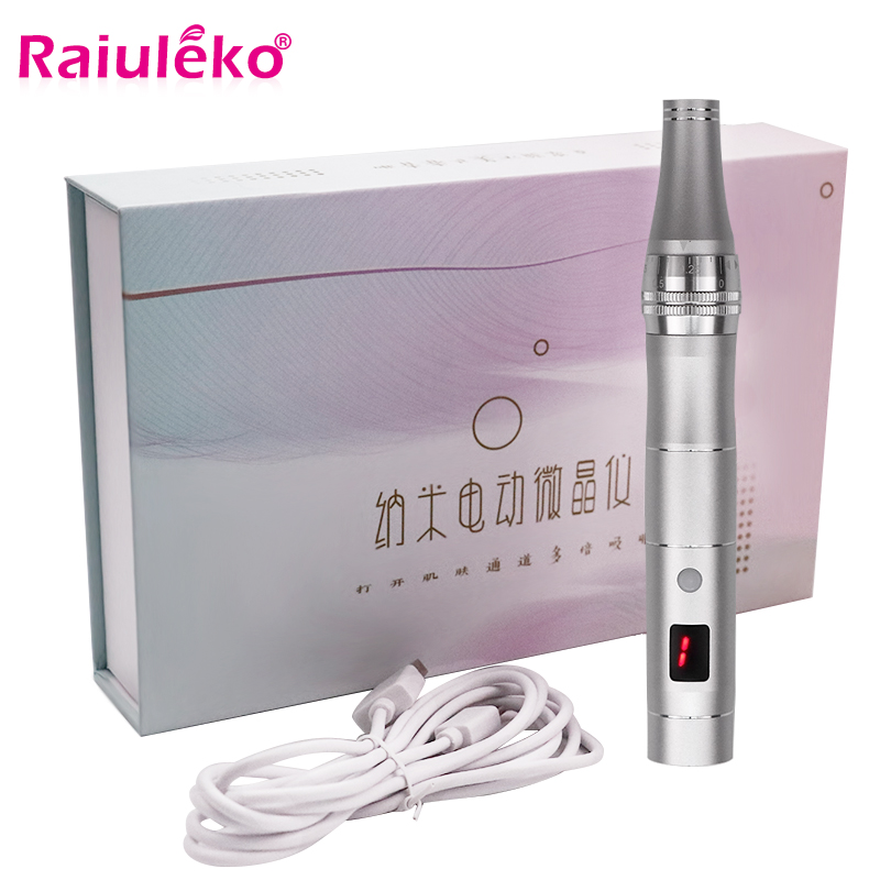 Electric Ultima Professional Wired Micro Needling Pen Skin Care Kit Tools Microblading Needles Mym Tattoo Gun Pen Mesotherapy