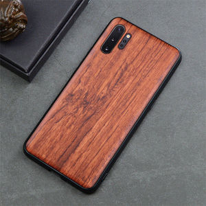 Image 4 - Custom Carved Wood Case For Samsung note 10 plus Note 8 Note 9 Case funda For Samsung s10 s9 plus Wooden TPU Protective Case