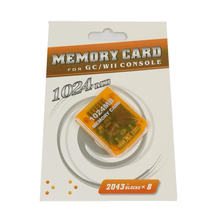 100 шт карта памяти 1024 МБ для w ii/gc консоли