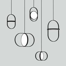 Потолочная Подвесная лампа artpad для столовой 14 Вт в скандинавском