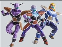 In Stock Demoniaca Fit 1/12 Ginew Action Figure Model Doll Dragon Ball Z Freeza Soldier Brinquedo Captain Ginyu Toy