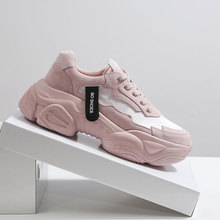White Woman Casual Women's Platform Breathable 2019 Sneakers for Women
