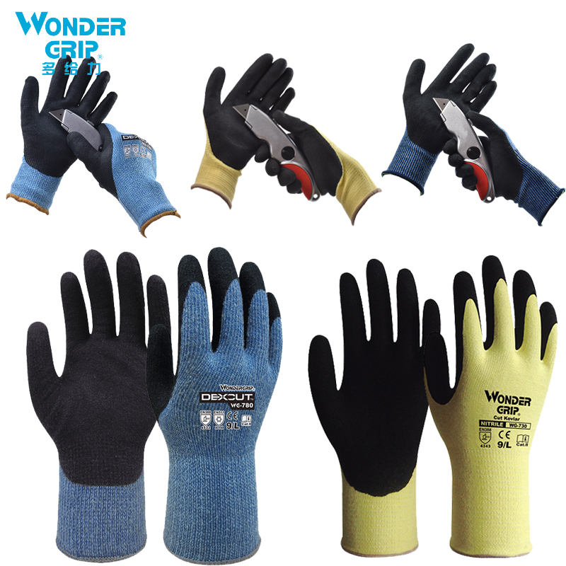 High Quality Cut Resistant Level Safety 5 Anti-Cut Work Gloves Metal Cut-proof Gloves Meat Cutting Protective Gloves