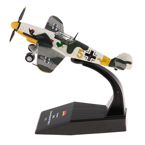 1:72 Bf-109 / Me-109 Germany Piston Fighter Plane Diecast Military Aviation Aircraft Model