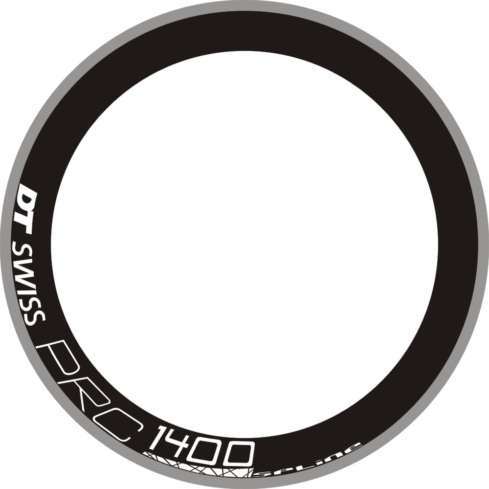 ARC 1400 Carbon Wheel Stickers Rims Decals Waterproof Sticker Reflective For 40/45/50/55/60/70/88/100mm Bicycle Bike TWO WHEELS