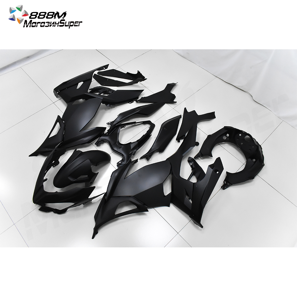 NINJA400 2018 2019 2020 Black Fairing For Ninja400 Ninja 400 2018-2020 18 19 20 Fairing  Motorcycle Full Fairing Kit Bodywork