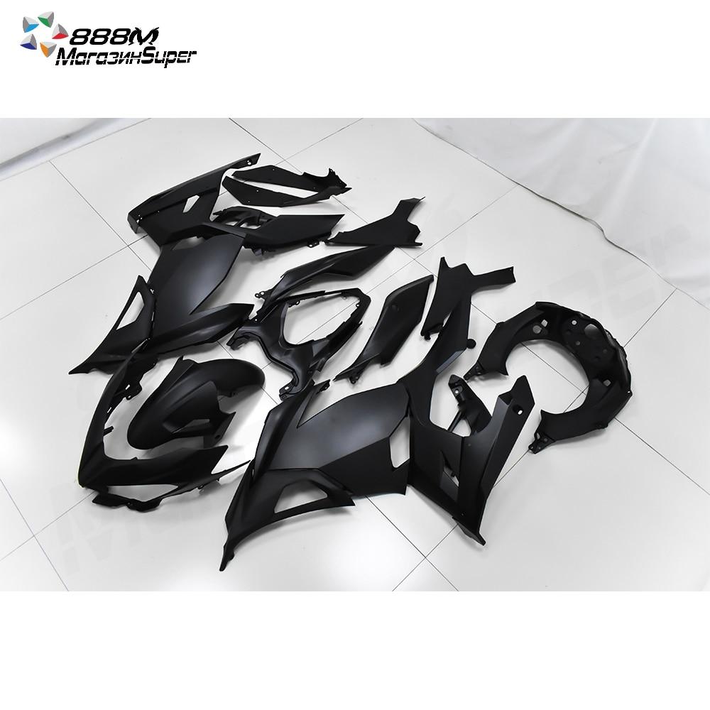 NINJA400 2018 2019 2020 Black Fairing For Ninja400 Ninja 400 2018-2020 18 19 20 Fairing  Motorcycle Full Fairing Kit Bodywork