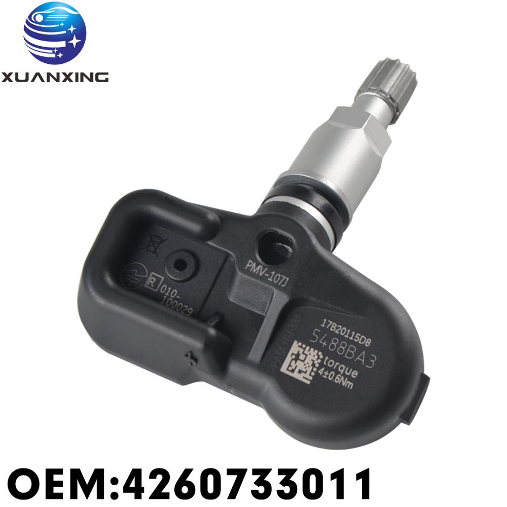 1 OEM 2011 Toyota Highlander TPMS Tire Sensor 42607-33021 PMV-107J