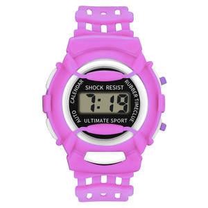 Watch Children Silicone Lightweight Electronic Kids Casual And Durable