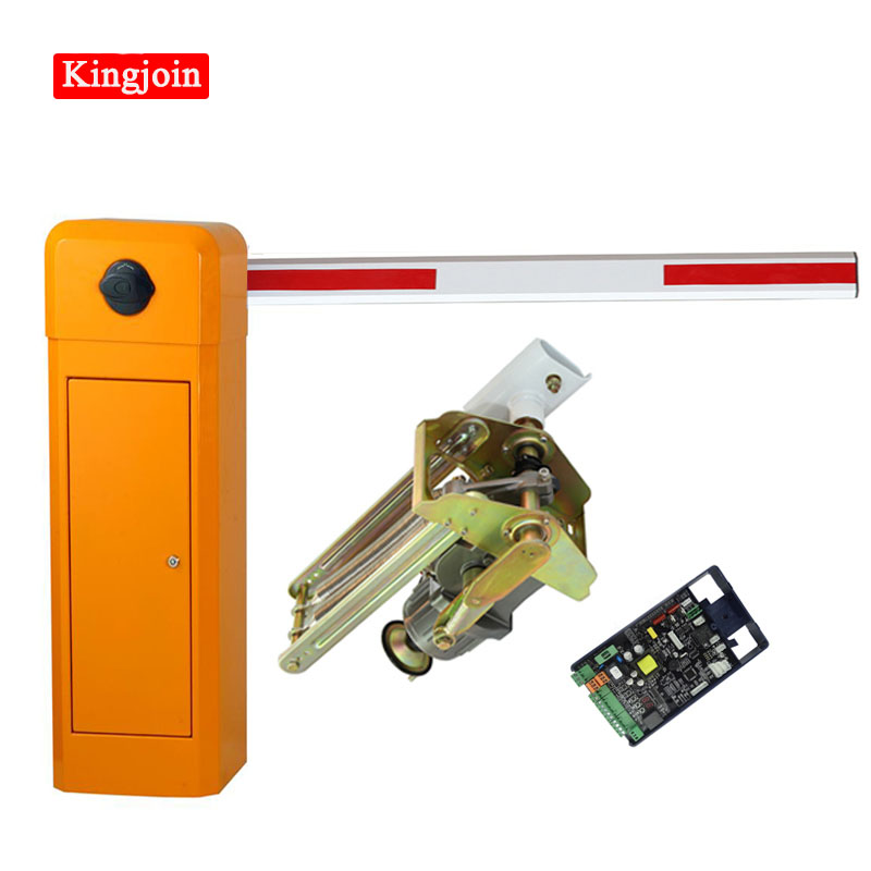 Barrier Gate Left Machine Vehicle GSM Automatic Barrier Gate Boom Gate Parking Barrier Automatic Barrier Gate Barrier