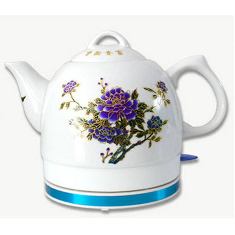 Electric Ceramic Discolourable Teapot Kettle Water Boiler Water Heating Device Teapot Electric Kettle Automatic Power Off