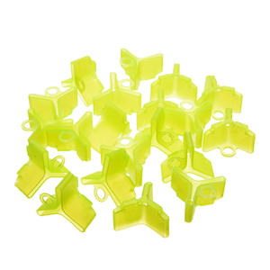 Hook Fishing-Treble Protector Bonnet-Cap 100pcs Safety-Cover Assorted 4-/5-